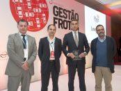 António Oliveira Martins, da Leaseplan recebe o prémio para a Melhor Gestora