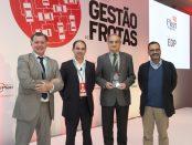 Avelino Medeiros, da EDP, recebe o prémio para a Frota Verde