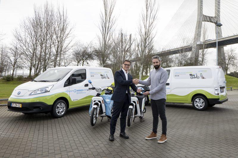 parceria eCooltra Nissan